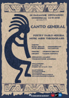 Canto General flyer